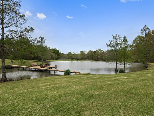 The property offers spectacular water and nature views.