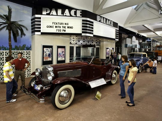 Casino magnate Bill Harrah started collecting cars back in the 1950s long before anyone else.  Highlights of his collection are now displayed at the National Automobile Museum in Reno.