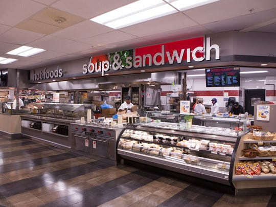 The $10 million renovation of ShopRite of Flemington includes an expanded soup and sandwich bar next to a new cafe.