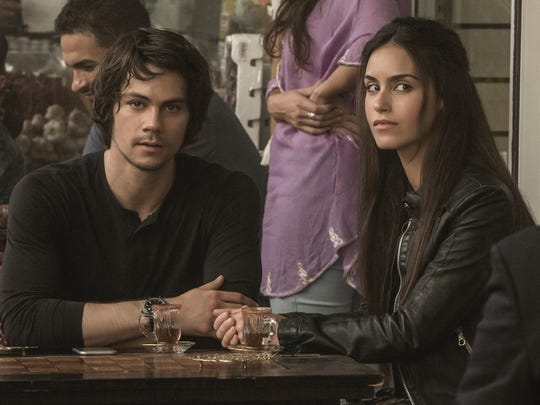 "Dylan O'Brien and  Shiva Negar appear in ""American Assassin."""