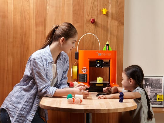 A 3D printer helps unleash a child's imagination.