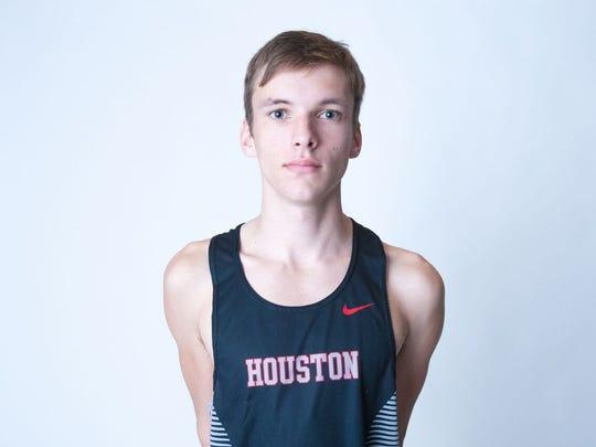 Bradley Turner, Houston cross country