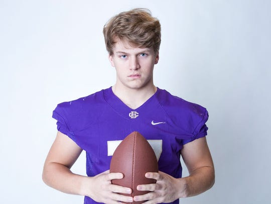 Christian Brothers defensive lineman Bill Norton has