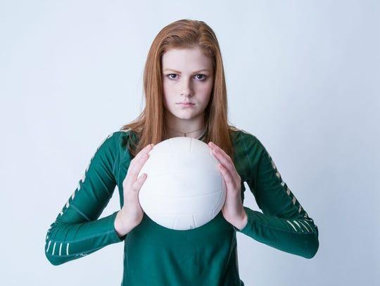 Carsyn Starr/Briarcrest volleyball