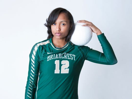 Alyiah Wells/Briarcrest volleyball