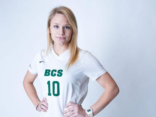 Kaley Smithmier, Briarcrest soccer