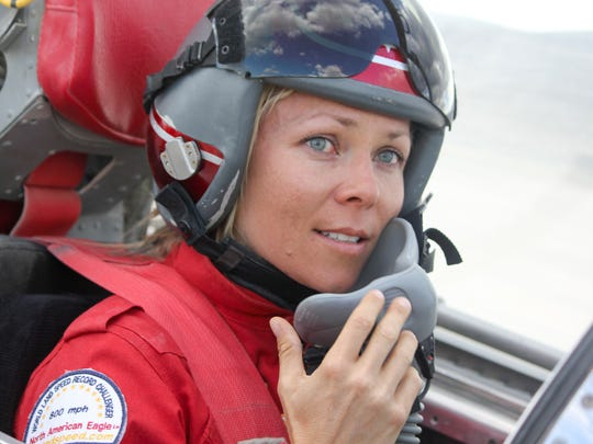 Land-speed racer Jessi Combs is set to attempt a world
