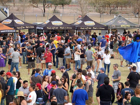 The Strong Beer Festival is the major event during