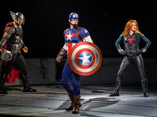 Thor, Captain America, Black Widow