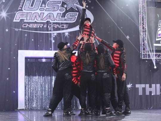 The Cheatham County Central High School dance team placed first in the Varsity Hip Hop division at the U.S. Finals Cheer and Dance competition in Indianapolis, Indiana on April 8.