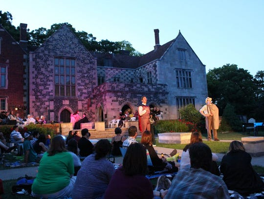 "Last year's performance of ""Taming of the Shrew"" at"