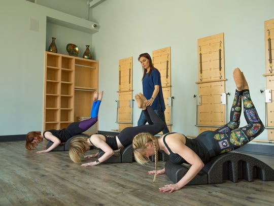 Pure Pilates, which has studios in downtown Pensacola