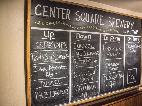 Center Square Brewery is part of the Adams County Pour Tour.