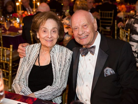 Dorothy  and  Russell  Di  Giallorenzo  at the Maltz