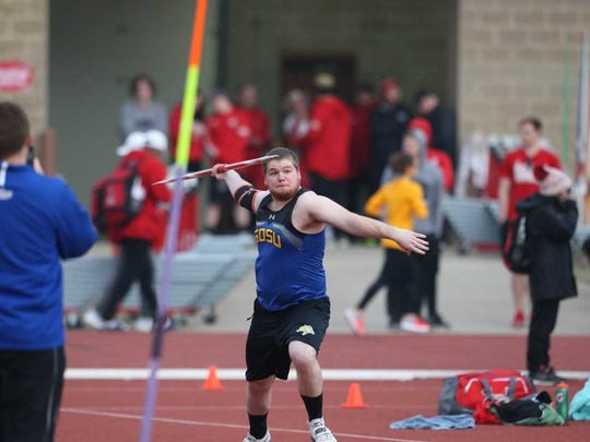 Northern Lebanon grad Dakota Leonhard is a standout in the javelin at South Dakota State.