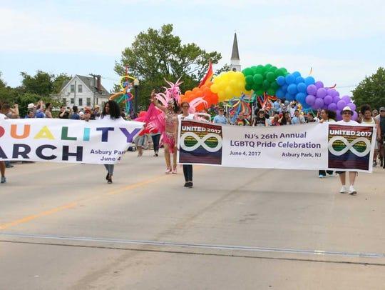New Jersey Pride, Asbury Park