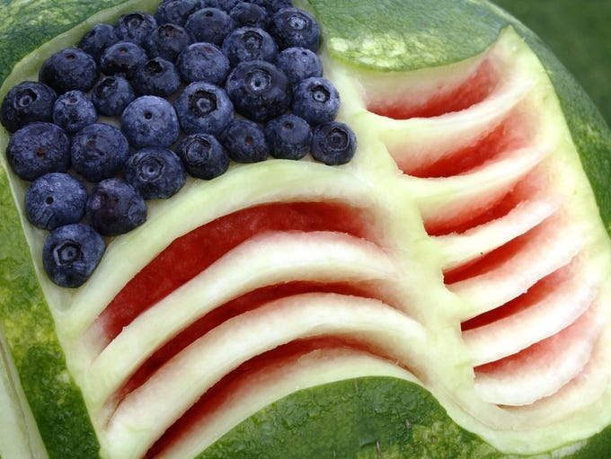 July is National Watermelon Month and the refreshing