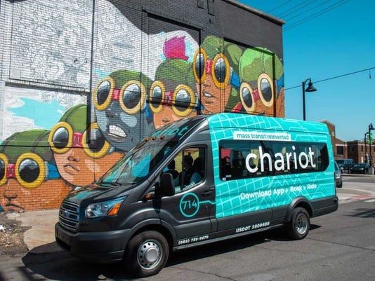 Chariot shuttle