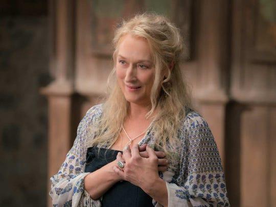 """Meryl Streep gives a little heartbreak in """"Mamma Mia!"""