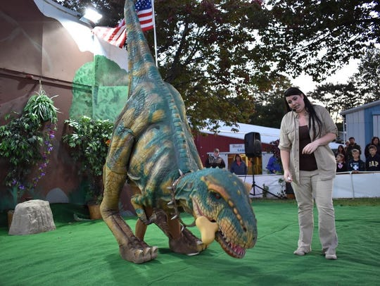 The Jurassic Kingdom dinosaur show is another new attraction