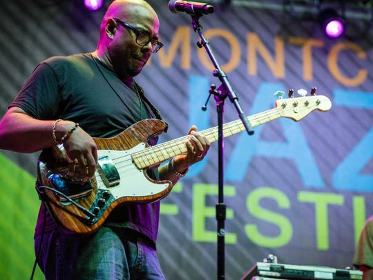 Christian McBride at the Montclair Jazz Festival