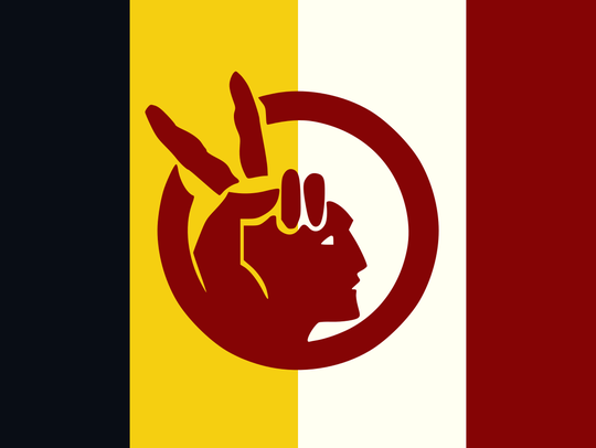 The American Indian Movement flag