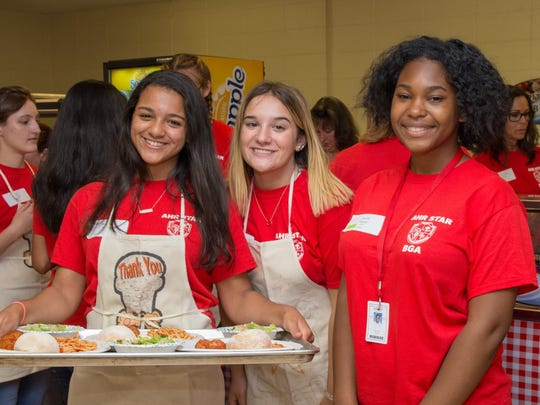 Bishop Ahr High School (BGA) celebrated the 31st year of its Ahr Star program on Thursday, Oct. 4by hosting its annual Ahr Star Spaghetti Dinner.