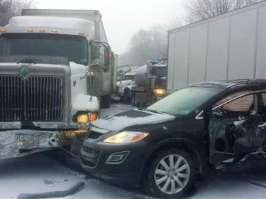 Fatal Highway Pileup