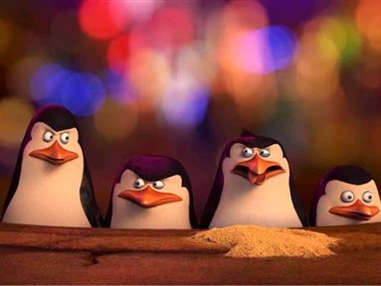 Film Review The Penguins of Madagascar