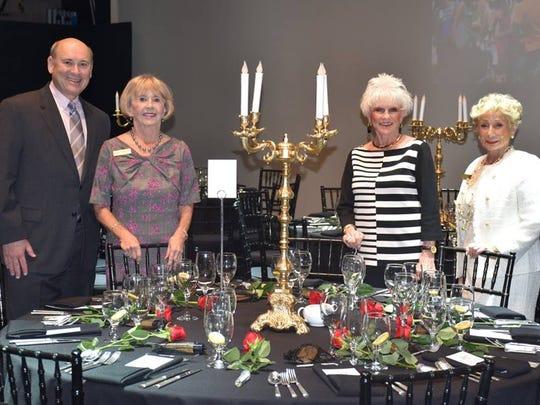 Mitch Gershenfeld, Linda Weakley, Mary Latta and Marge Barry.