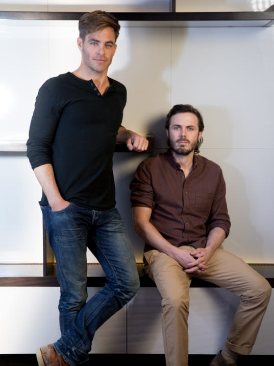 XXX CHRIS PINE AND CASEY AFFLECK  THE FINEST HOURS  027.JPG ENT CA