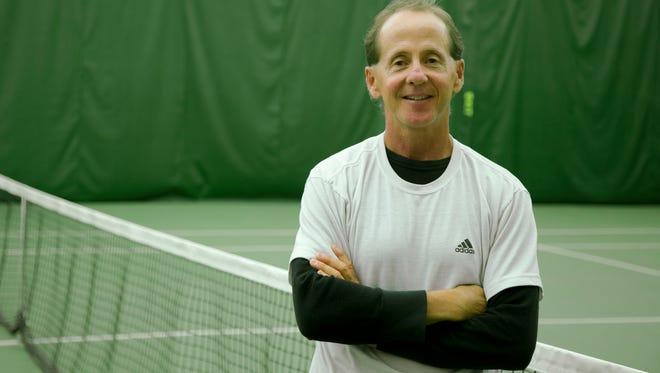Lansing tennis coach Michael Bryant.