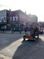 The Pedal Wagon is now available for rides in Covington.