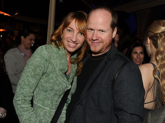 Kai Cole and Joss Whedon pictured at a 2010 event in