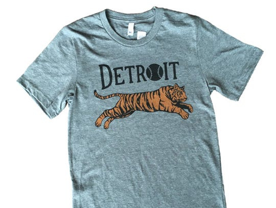 Leaping Tiger shirt, $24 at ilovecitybird.com