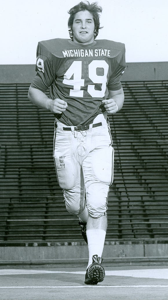 Linebacker Terry McClowry was a consensus first-team All-Big Ten selection in 1974. He died in April 2013.