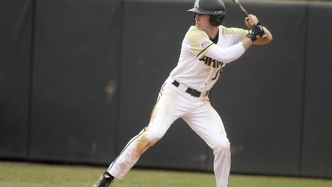 Jacob Hurtubise finished his Army career with a .301 average and is the all-time leader — at Army and in the Patriot League — in stolen bases (105) and walks (142). The 22-year-old center fielder has a shot at playing baseball professionally after he graduates.