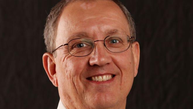 Des Moines Register senior news director Randy Brubaker.