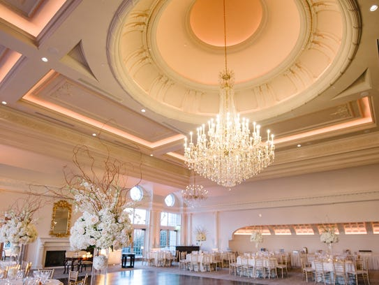 The ballroom of the new Park Chateau in East Brunswick