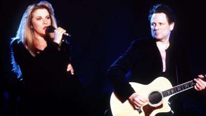 Fleetwood Mac's Stevie Nicks and Lindsey Buckingham.