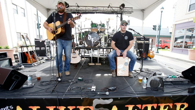 Justin Raynor's band opens the Alive After Five concert series Friday outside Roundin' Third in Elmira.