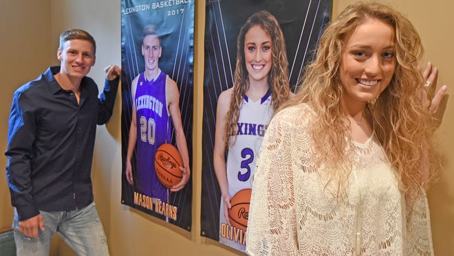 Mason and Olivia Kearns are twins with impressive athletic accomplishments from Lexington High School.