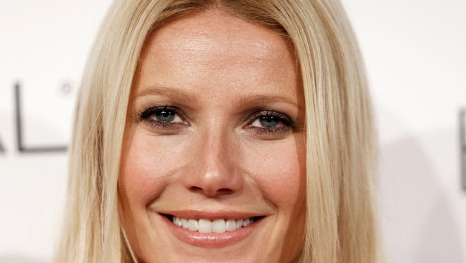 Gwyneth Paltrow arrives at a ELLE magazine's 17th Annual Women in Hollywood Tribute in Beverly Hills, Calif. in 2010.