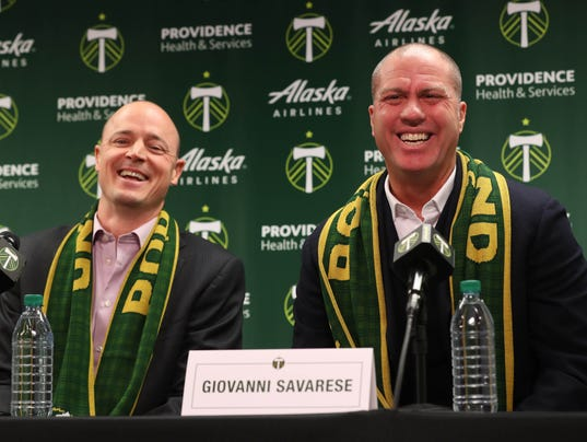 MLS: Portland Timbers-Press Conference