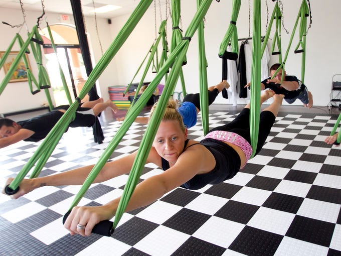 The Valley offers several aerial fitness and dance