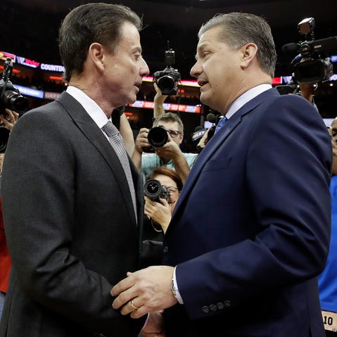 John Calipari wants Rick Pitino to return to Kentucky and be honored by fans