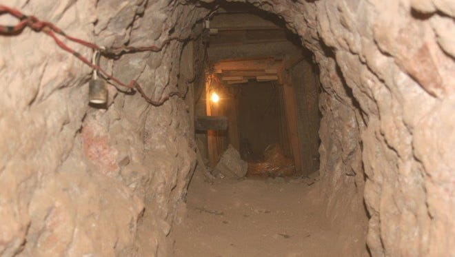 Federal authorities shut down a 481-foot illicit drug tunnel in Nogales, Ariz., on Monday, Feb. 10, 2014. It is the longest such tunnel ever discovered in the border city, following a multiagency investigation by the Nogales Tunnel Task Force.