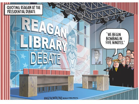 The Republican Presidential debate!