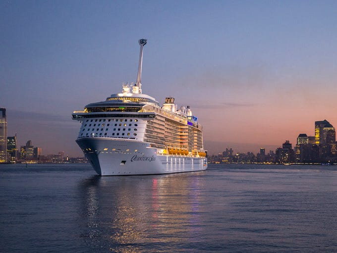 Royal Caribbean's Quantum of the Seas arrives in New