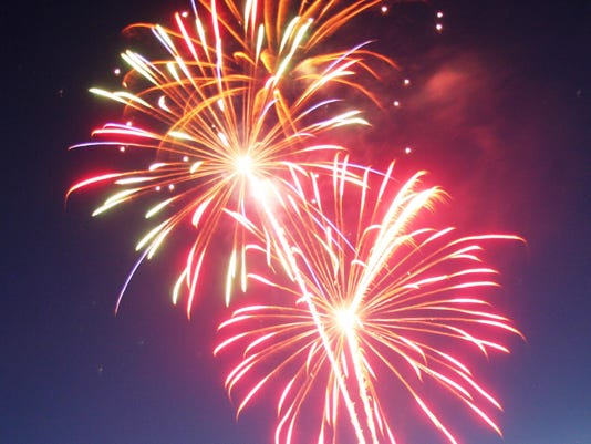 MV0709 Fireworks colors